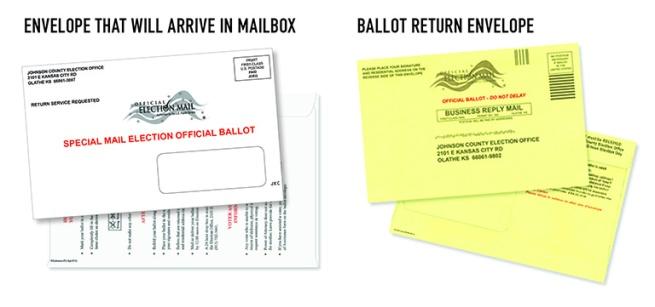 ballot envelopesx